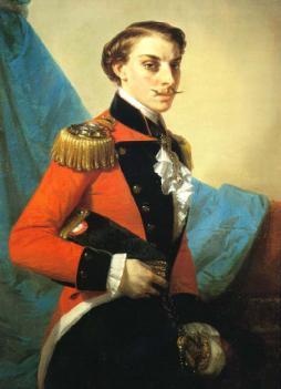 Ritratto di Carlo III° di Borbone (1823-1854)