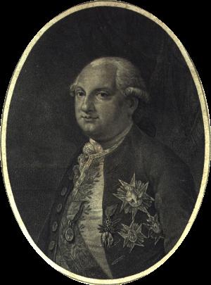 Ferdinando di Borbone in una acquaforte del celebre incisore Rosaspina eseguita nel 1791