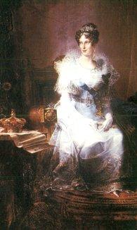 Ritratto di Maria Luigia Duchessa di Parma conservato alla Galleria Nazionale di Parma