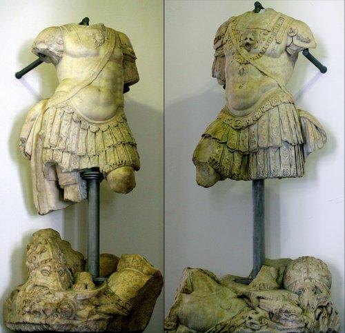 Statue di Andrea e Gio. Andrea Doria a Palazzo Ducale