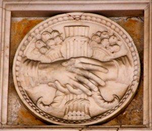 Bassorilievo a Palazzo Ducale