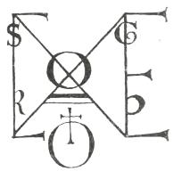 Monogramma di Corrado III di Hohenstaufen, detto anche Corrado II Re di Roma