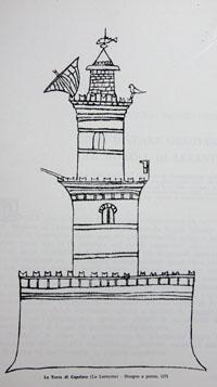 Torre di Capofaro (La Lanterna) nel 1371