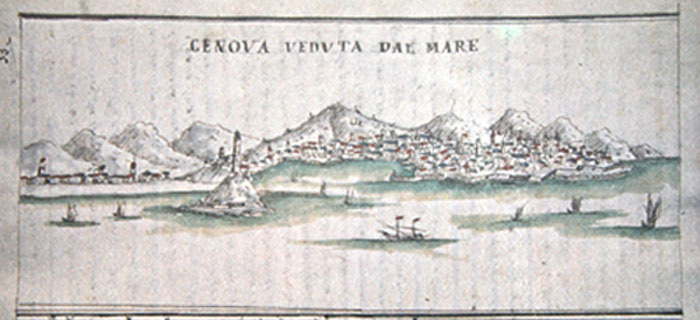 Genova intorno al 1400