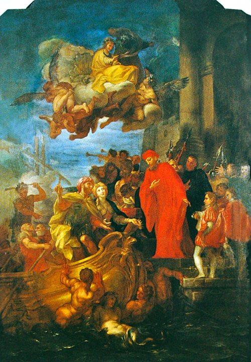 Il Doge rende a Giacomo di Lusignano la libertà e il Regno di Cipro