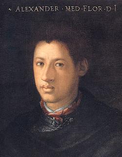 Alessandro De' Medici (fonte Wikipedia)