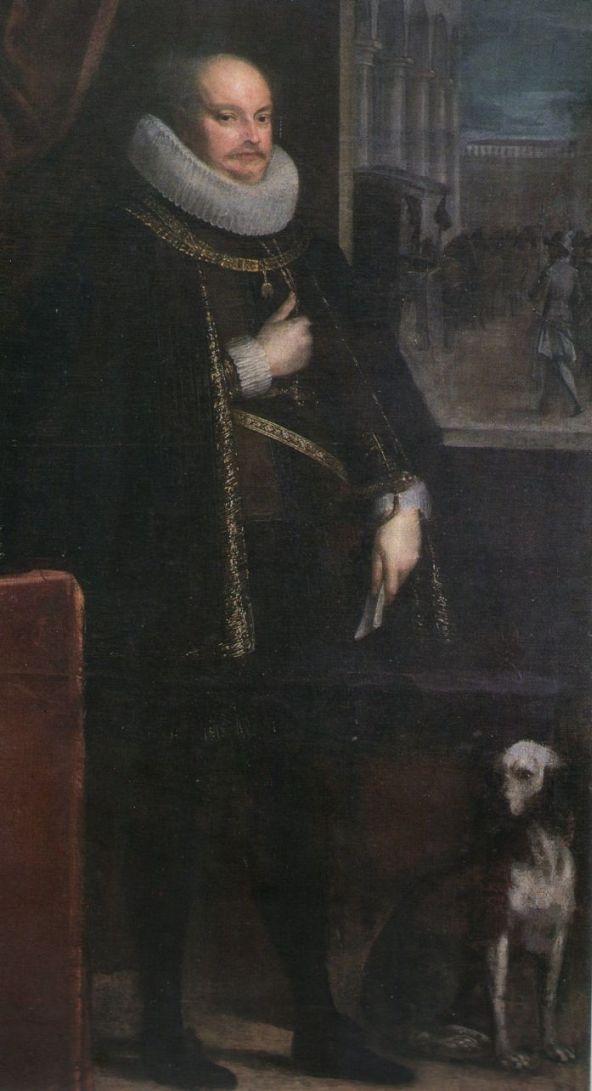 Ritratto di Alessandro I Pico. Mantova, Palazzo Ducale.