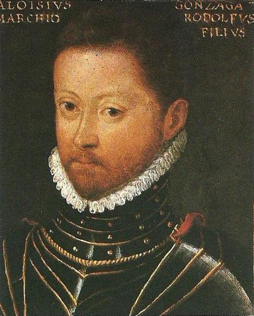 Ritratto di Luigi Alessandro Gonzaga (Aloisio Gonzaga), capostipite del ramo di Castiglione delle Stiviere, Castel Goffredo e Solferino. Innsbruck, collezione del castello di Ambras.