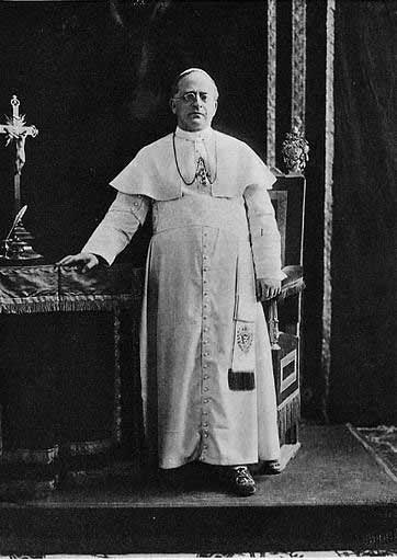 Fotografia del Papa Pio XI