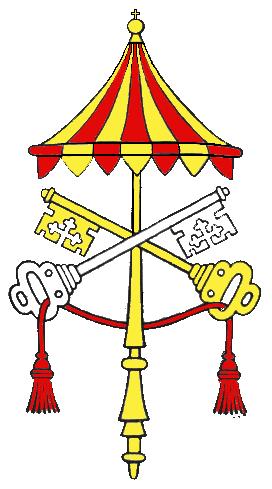 Stemma della Santa Sede durante la Sede Vacante
