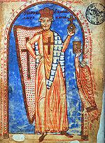 Federico Barbarossa miniatura del 1188