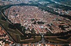 Perimetro Lucca medievale