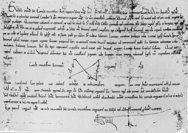 La presunta concessione di zecca alla città di Aquileia da parte di Corrado II (copia notarile del 1195)