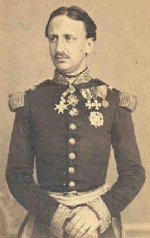 Francesco II di Borbone in una fotografia d'epoca.
