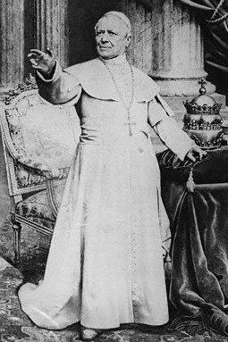 Fotografia di Pio IX
