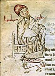 miniatura raffigurante Ugo di Toscana