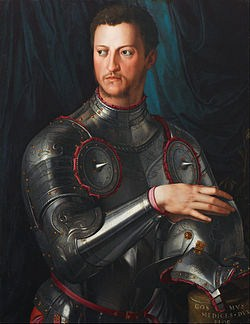 ritratto di Cosimo I de'Medici (Granduca di Toscana 1569-1574)