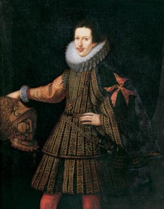 ritratto di Cosimo II de'Medici (Granduca di Toscana 1609-1621)