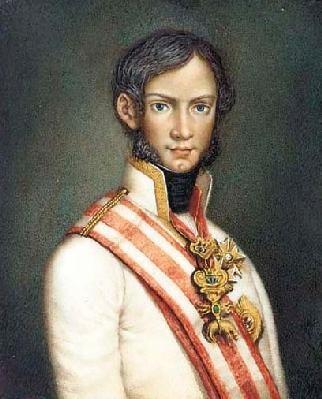 ritratto giovanile Leopoldo II  (Granduca Toscana 1824-1859)