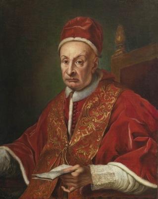 Ritratto di Benedetto XIII.