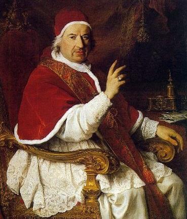 Ritratto di papa Benedetto XIV