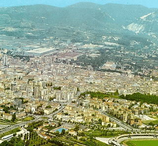 Veduta della città di Terni