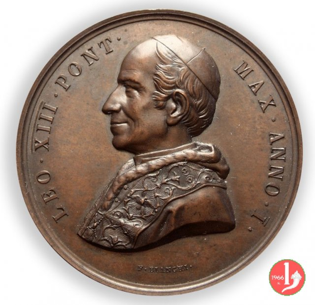 1-A. I - Elezione al pontificato 1878
