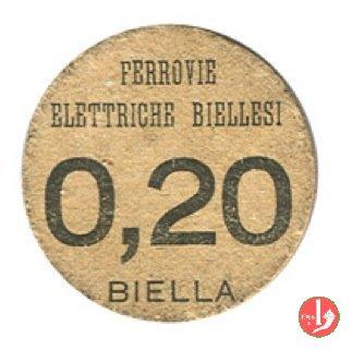 Biella - Ferrovie Elettriche Biellesi 1944
