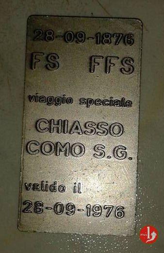 Como - FS Biglietto Speciale 1976