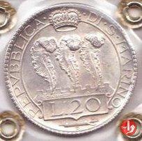 20 lire 1933 (Roma)