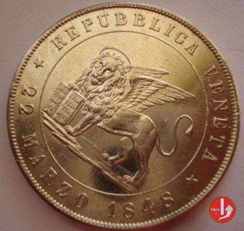 5 lire 22 marzo 1848 1848 (Venezia)