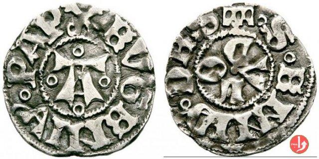 Bolognino (A con anellini) 1446-1447 (Ascoli)
