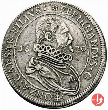 Tallero 1620 stemma senza collare del Toson d'oro 1620 (Guastalla)