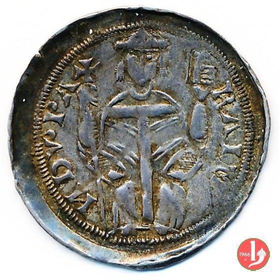 Denaro con chiavi e torri 1287-1299 (Aquileia)