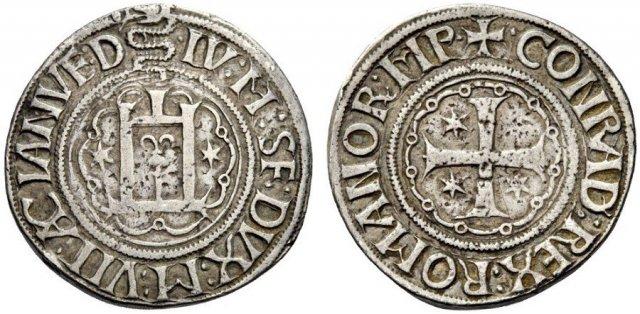 Testone o Lira 1496 (Genova)