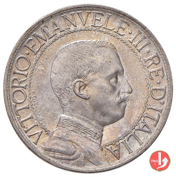 1 lira quadriga veloce 1910 (Roma)