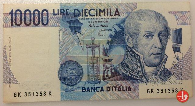10.000 lire Alessandro Volta 1998