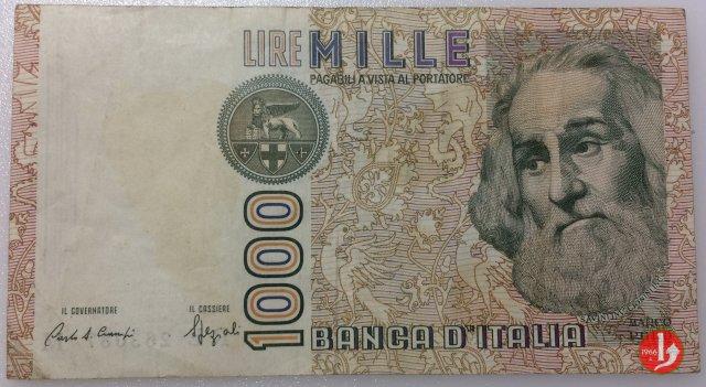1.000 lire Marco Polo 1988