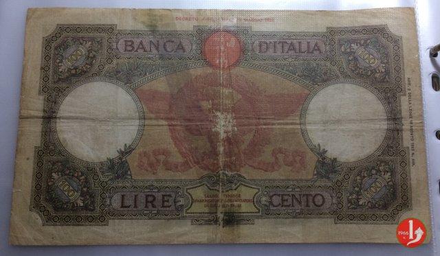 "100 Lire Capranesi ""Roma"" 1932"