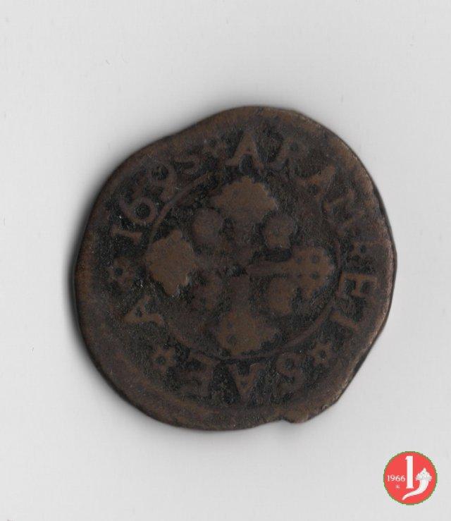 3 cagliaresi (2° tipo) 1695 (Cagliari)