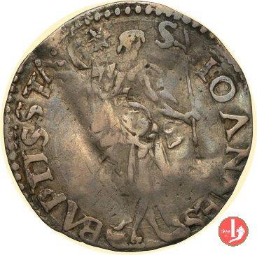 1/2 giulio I serie (Santo in piedi, senza data) 1555-1569 (Firenze)