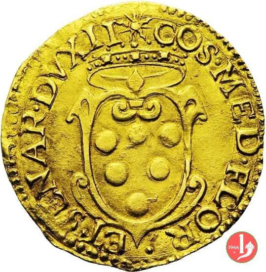 scudo d'oro II serie (croce con nulla negli angoli) 1555-1569 (Firenze)