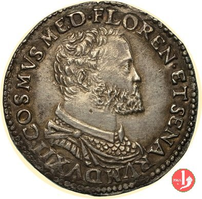 testone II serie (busto piccolo) 1557-1564 (Firenze)
