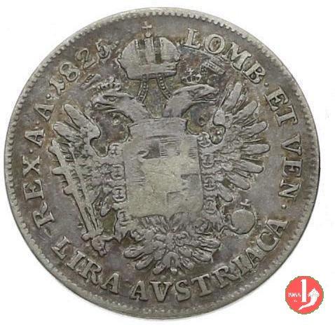 1 lira austriaca 1825 (Milano)