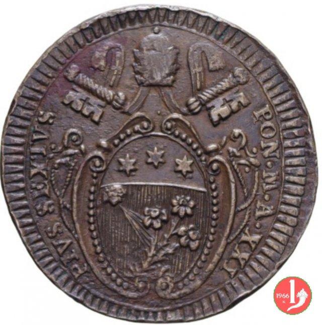 2 baiocchi 1795-1796 (Foligno)