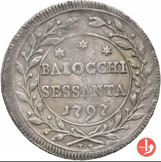 60 baiocchi 1797 (Roma)
