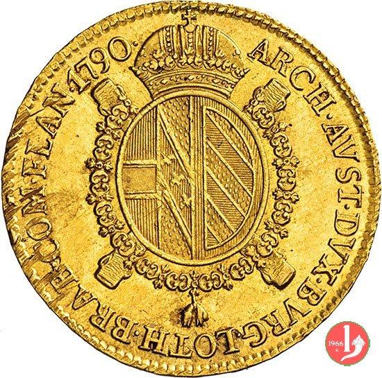 1 sovrana 1790 (Milano)