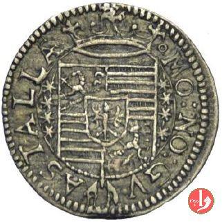 Da 3 soldi o kreuzer 1618 (Guastalla)