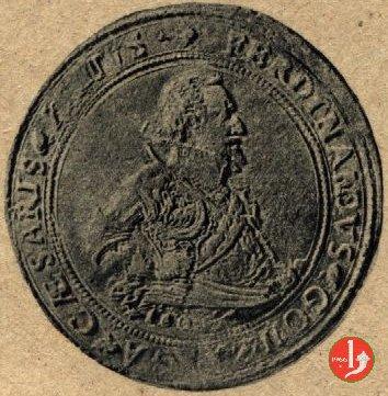 Doppio tallero con data 1601 (Guastalla)