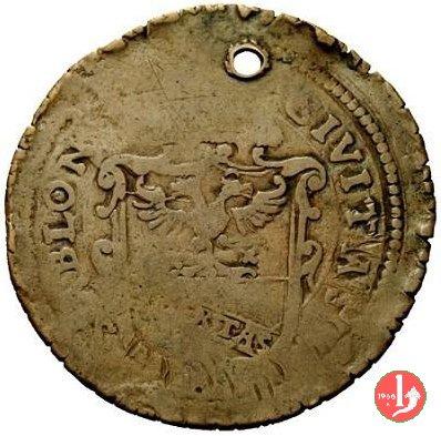 Mezzo ducatone con busto 1579 (Sabbioneta)